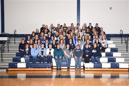 Mercer Elementary School Staff Picture